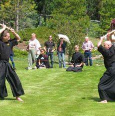 การฝึกซ้อมดาบ Kenjutsu